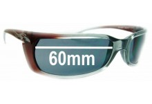 Sunglass Fix Sunglass Replacement Lenses for Arnette Matik AN4034 - 60mm Wide