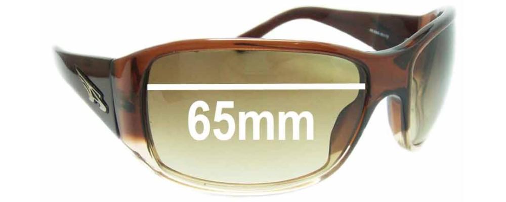 Sunglass Fix Sunglass Replacement Lenses for Arnette High Roller AN4065 - 65mm Wide