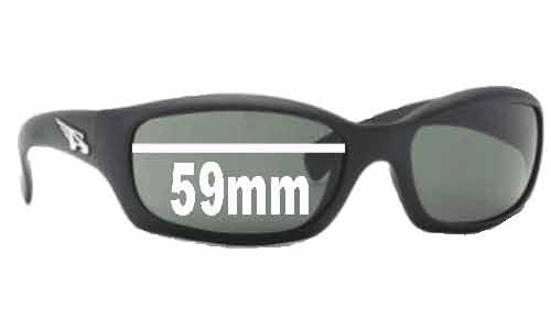 Sunglass Fix Sunglass Replacement Lenses for Arnette Manifesto AN4068 - 59mm Wide x 35mm Tall
