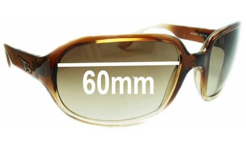 Sunglass Fix Sunglass Replacement Lenses for Arnette Degree AN4071 - 60mm Wide