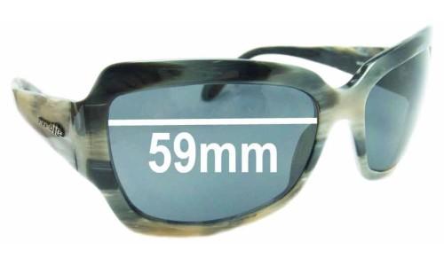 Sunglass Fix Sunglass Replacement Lenses for Arnette Countess AN4086 - 59mm wide