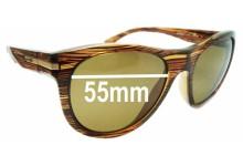 Sunglass Fix Sunglass Replacement Lenses for Arnette Blowout AN4142 - 55mm Wide