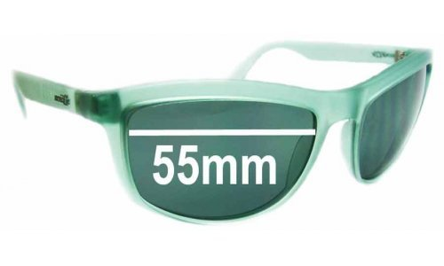 Sunglass Fix Sunglass Replacement Lenses for Arnette Dogs - 55mm Wide