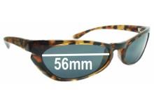 Sunglass Fix Sunglass Replacement Lenses for Arnette El Gato - 56mm Wide