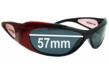 Sunglass Fix Sunglass Replacement Lenses for Arnette Elixir AN280 - 57mm Wide