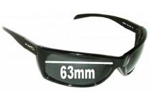 Sunglass Fix Sunglass Replacement Lenses for Arnette Frenzy AN4101 - 63mm Wide
