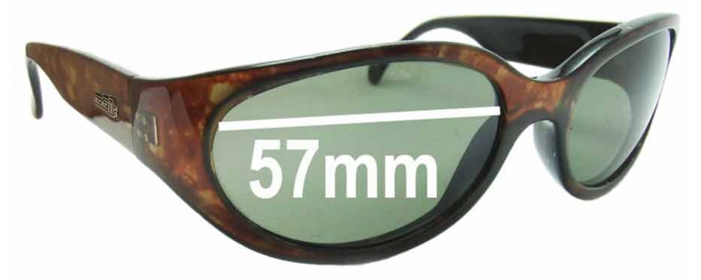 Sunglass Fix Replacement Lenses for Arnette Hoodoo - 57mm Wide