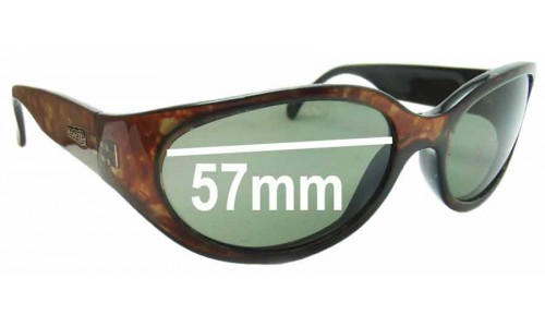 Sunglass Fix Sunglass Replacement Lenses for Arnette Hoodoo - 57mm Wide