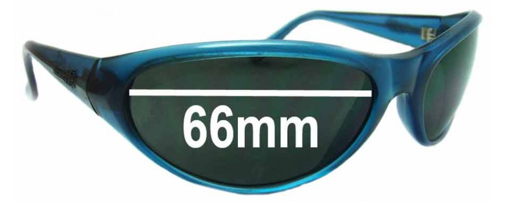 Sunglass Fix Sunglass Replacement Lenses for Arnette Ravens - 66mm Wide