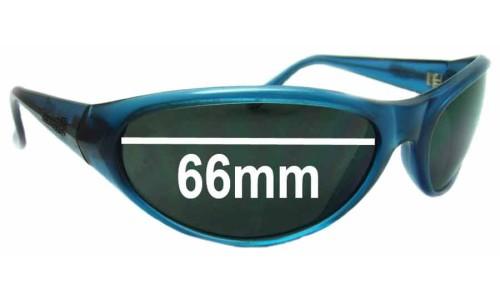Sunglass Fix Sunglass Replacement Lenses for Arnette Ravens - 66mm wide