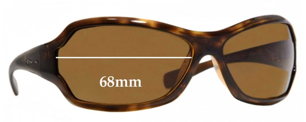 Sunglass Fix Replacement Lenses for Arnette Royal AN4095 - 68mm Wide