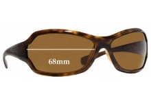 Sunglass Fix Sunglass Replacement Lenses for Arnette Royal AN4095 - 68mm Wide