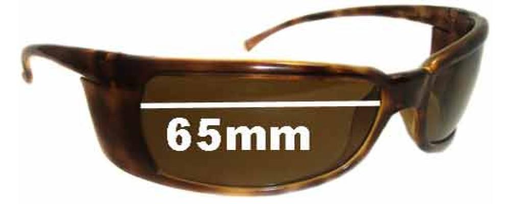 Sunglass Fix Replacement Lenses for Arnette Titan AN4006 - 65mm Wide