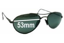 Sunglass Fix Sunglass Replacement Lenses for Arnette Vintage Aviators - 53mm Wide