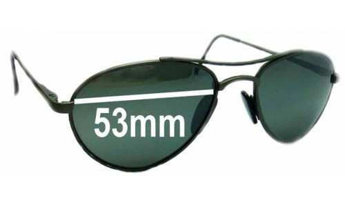 Sunglass Fix Sunglass Replacement Lenses for Arnette Vintage Aviators - 53mm Wide