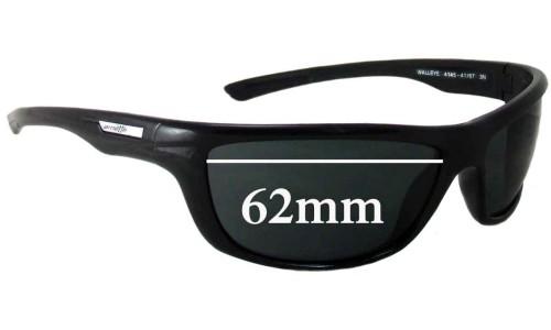 Sunglass Fix Sunglass Replacement Lenses for Arnette Walleye AN4145 - 62mm Wide