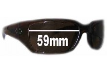 Sunglass Fix Sunglass Replacement Lenses for Blinde HILLKILL - 59mm Wide