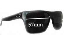 Sunglass Fix Sunglass Replacement Lenses for Blinde Miami Daddy - 57mm Wide