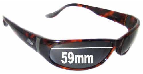 df629bd62f5 Bolle Canebrake Sunglass Replacement Lenses - 59mm wide