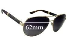 Sunglass Fix Sunglass Replacement Lenses for Bvlgari 5025 - 62mm Wide