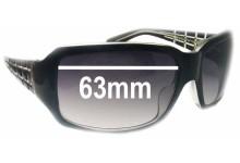 Sunglass Fix Sunglass Replacement Lenses for Calvin Klein CK826S - 63mm Wide