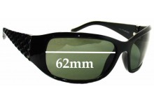 Sunglass Fix Sunglass Replacement Lenses for Cancer Council Australia Hard Board - 62mm Wide