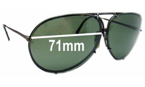 Sunglass Fix Sunglass Replacement Lenses for Carrera 5621 - 71mm wide