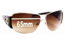 Sunglass Fix Sunglass Replacement Lenses for Chanel 4143 - 65mm Wide