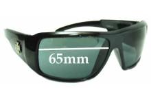 Sunglass Fix Sunglass Replacement Lenses for Chopper 240 - 65mm Wide