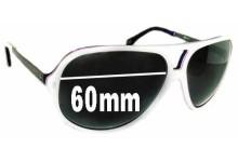 Sunglass Fix Sunglass Replacement Lenses for Dolce & Gabbana DG3065 - 60mm Wide