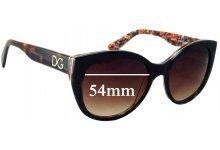 Sunglass Fix Sunglass Replacement Lenses for Dolce & Gabbana DG4217 - 54mm Wide
