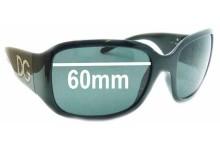 Sunglass Fix Sunglass Replacement Lenses for Dolce & Gabbana DG6038 - 60mm Wide
