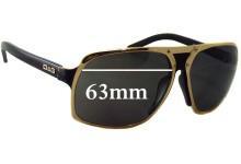 Sunglass Fix Sunglass Replacement Lenses for Dolce & Gabbana DG6050 - 63mm Wide