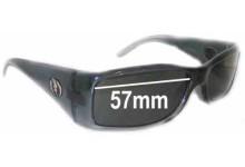 Sunglass Fix Sunglass Replacement Lenses for Electric HI FI - 57mm Wide