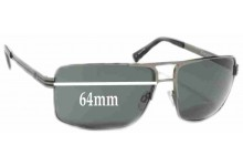 Sunglass Fix Sunglass Replacement Lenses for Electric OHM II - 64mm Wide