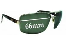 Sunglass Fix Sunglass Replacement Lenses for Electric Ohm - 66mm Wide
