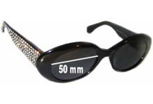 Sunglass Fix Sunglass Replacement Lenses for Escada E1005 - 50mm Wide