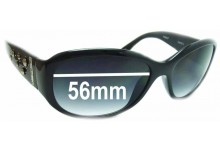 Sunglass Fix Sunglass Replacement Lenses for Fossil Mallory - 56mm Wide