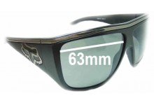 Sunglass Fix Sunglass Replacement Lenses for Fox The Rayavana - 63mm Wide