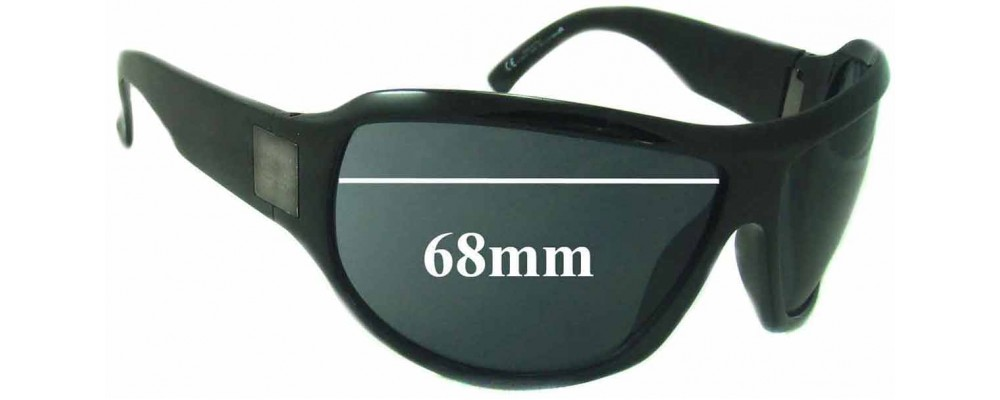 Sunglass Fix Replacement Lenses for Gucci GG1562/S - 68mm Wide