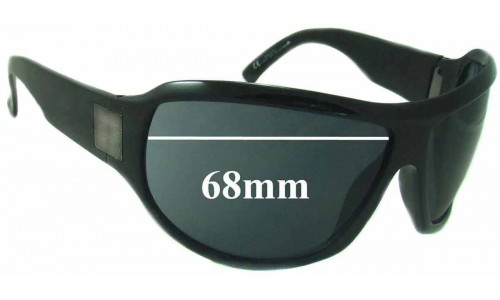 Sunglass Fix Sunglass Replacement Lenses for Gucci GG1562S - 68mm wide