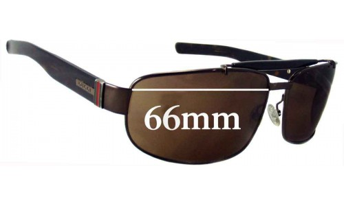 Sunglass Fix Sunglass Replacement Lenses for Gucci GG 1844/S - 66mm Wide