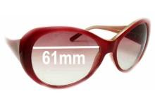 Sunglass Fix Sunglass Replacement Lenses for Guess GU6208 - 61mm Wide