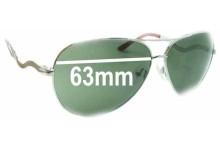 Sunglass Fix Sunglass Replacement Lenses for Guess GU7021 - 63mm Wide