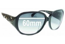 Sunglass Fix Sunglass Replacement Lenses for Juicy Couture Rich Girl/S - 60mm Wide
