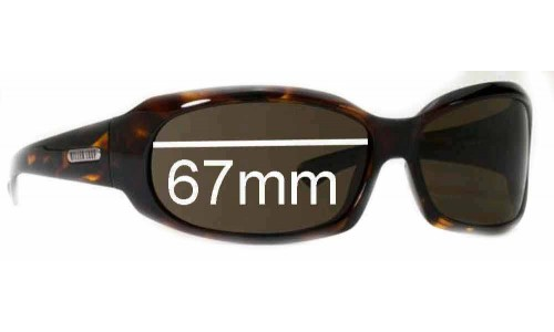 Sunglass Fix Sunglass Replacement Lenses for Killer Loop KL4146 - 67mm Wide