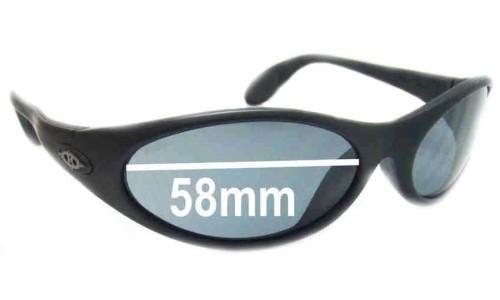 Sunglass Fix Sunglass Replacement Lenses for Killer Loop K1110 The Fix - 58mm Wide