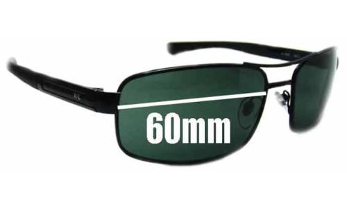 Sunglass Fix Sunglass Replacement Lenses for Killer Loop KL3205 - 60mm Wide