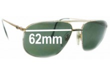 Sunglass Fix Sunglass Replacement Lenses for Lacoste Classic 121a - 62mm Wide