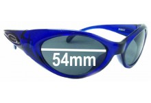 Sunglass Fix Sunglass Replacement Lenses for Legend Snedly - 54mm Wide